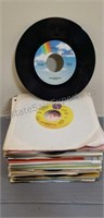 Lot of (50) Various 45RPM Records