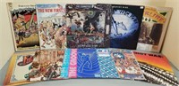 Lot of (10) Various Records