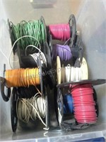 Misc Spools of Electrical Wire
