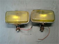 Vintage Fog Lights untested