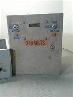 Electrical Control Boxes Used