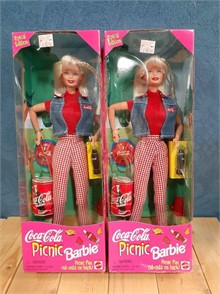 2 COCA COLA PICNIC BARBIES 1997 Other Items For Sale 1