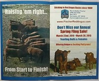 Montana Red Angus Directory Ad Auction