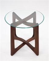Adrian Pearsall Sculptural Walnut Side Table