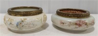 Pair of Antique Wave Crest Trinket Dishes.