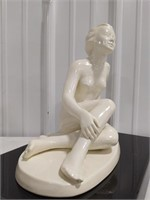 Art Deco Style West Germany Pottery Nude figurine