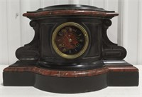 Beautiful Mantel Clock with marble measures