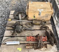 Pallet lot of tools