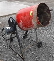 Red Lion electric cement mixer