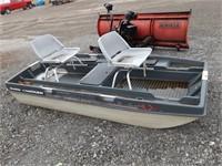Bantam 3X Bass Tracker 9ft boat