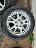 """Road Hugger tire on 16"""" rim"""