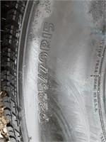 Master craft tire, P235/70R15