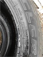 Bridgestone Bueller tire, P275/55R20.