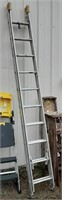 Aluminum 20ft extension ladder