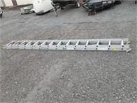 Werner 25ft aluminum extension ladder