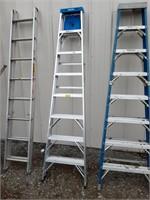 Werner 8ft aluminum A Frame ladder