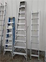Werner 10ft aluminum A Frame ladder