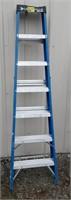 Louisville 7ft fiberglass A Frame ladder