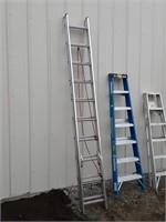 Werner 20ft aluminum extension ladder