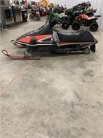 Yamaha SRV 540cc snowmobile