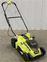 Ryobi 18v 16inch cut electric lawnmower comes