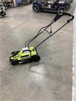Ryobi 11amp 13inch cut electric lawn mower