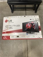 42inch led flat screen tv with box