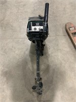 Sears Roebuck and CO size unknown outboard motor