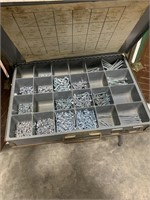 6 drawer bolt bin