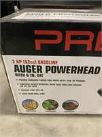 NEW Predator 2hp auger Powerhead with 6in X 39in