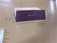 Closet maid deluxe drawer kit. Dark cherry