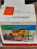 Smart home household monitoring kit. Includes