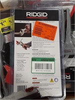 Rigid plastic pipe cutter.