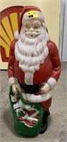 Blow mold Santa clause