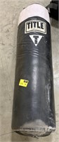 Title boxing hanging heavy bag