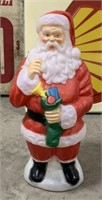Blow mold Santa clause