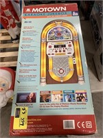 Motown Karaoke jukebox New in box