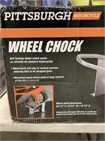 Pittsburgh motorcycle wheel chock