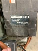 Hitachi air compressor EC 12.  2HP 115V 60Hz 4