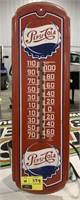 Vintage Pepsi-Cola Thermometer sign.