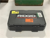Ridgid micro CA-25 inspection camera with case.