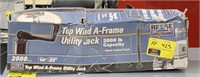 Reese TowPower top wind A-Frame utility jack.