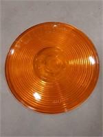 Lot of orange Peterson plastic light lenses.