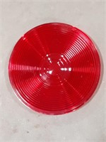 Lot of Peterson red plastic light covers.