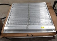 Industrial stainless steel and aluminum vent