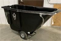 Tough guy plastic utility cart