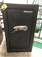 Sentry Safe ,  Digital pad for keyless entry.