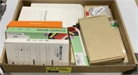 Box lot phone accessories power bank, power case,