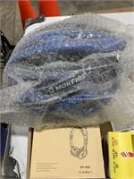 Box lot wireless headset, Mokefire helmet and