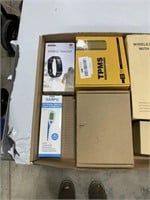 Box lot wireless headset, fitness tracker and